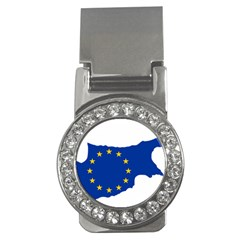 European Flag Map Of Cyprus  Money Clips (cz)