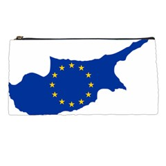 European Flag Map Of Cyprus  Pencil Cases by abbeyz71