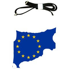 European Flag Map Of Cyprus  Shoulder Sling Bags