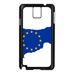 European Flag Map Of Cyprus  Samsung Galaxy Note 3 N9005 Case (black)