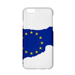 European Flag Map Of Cyprus  Apple Iphone 6/6s Hardshell Case