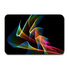 Crystal Rainbow, Abstract Winds Of Love  Plate Mats by DianeClancy