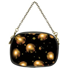 Golden Balls Chain Purses (two Sides)  by Valentinaart