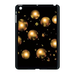 Golden Balls Apple Ipad Mini Case (black) by Valentinaart