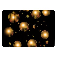 Golden Balls Samsung Galaxy Tab 10 1  P7500 Flip Case by Valentinaart