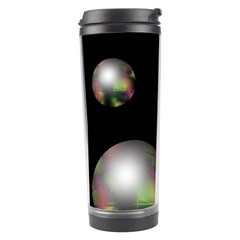 Silver Pearls Travel Tumbler