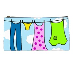 Laundry Pencil Cases by Valentinaart