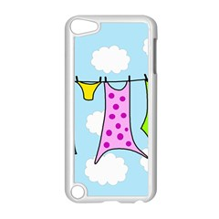 Laundry Apple Ipod Touch 5 Case (white) by Valentinaart