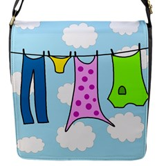 Laundry Flap Messenger Bag (s) by Valentinaart