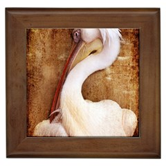 920 Pelican Framed Tiles by PimpinellaArt