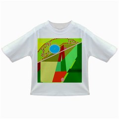 Colorful Abstraction Infant/toddler T Shirts by Valentinaart