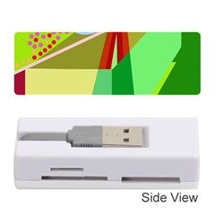 Colorful Abstraction Memory Card Reader (stick)  by Valentinaart