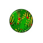 In the jungle Hat Clip Ball Marker Front