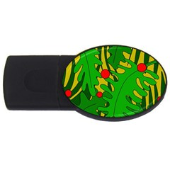 In The Jungle Usb Flash Drive Oval (4 Gb)