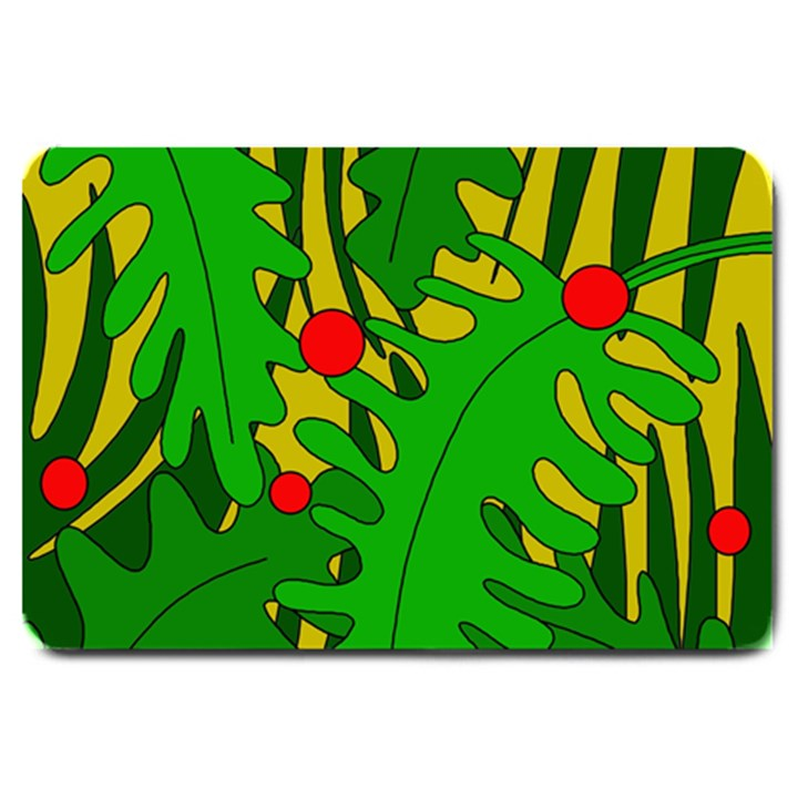 In the jungle Large Doormat