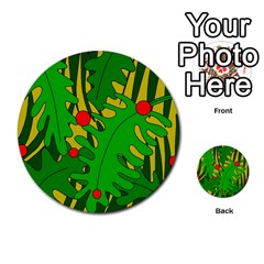 In The Jungle Multi Purpose Cards (round)  by Valentinaart