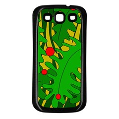 In The Jungle Samsung Galaxy S3 Back Case (black) by Valentinaart