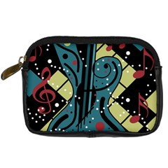 Playful Guitar Digital Camera Cases by Valentinaart