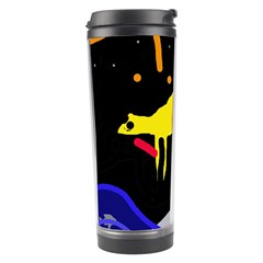 Crazy Dream Travel Tumbler by Valentinaart