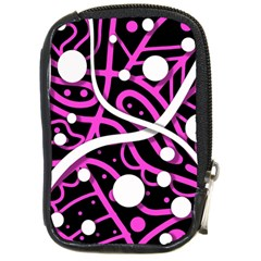 Purple Harmony Compact Camera Cases by Valentinaart