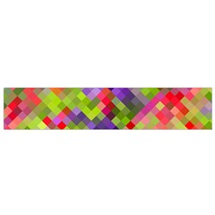 Colorful Mosaic Flano Scarf (small) by DanaeStudio