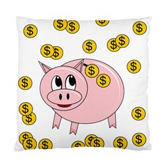Piggy Bank  Standard Cushion Case (two Sides) by Valentinaart