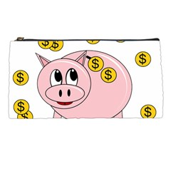 Piggy Bank  Pencil Cases by Valentinaart
