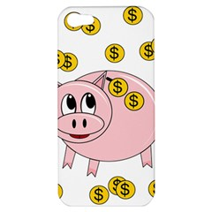 Piggy Bank  Apple Iphone 5 Hardshell Case by Valentinaart