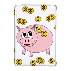 Piggy Bank  Apple Ipad Mini Hardshell Case (compatible With Smart Cover) by Valentinaart