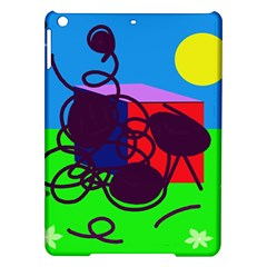 Sunny Day Ipad Air Hardshell Cases by Valentinaart