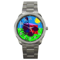 Sunny Day Sport Metal Watch by Valentinaart