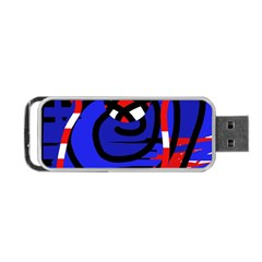 Follow Me Portable Usb Flash (two Sides) by Valentinaart