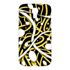 Yellow Movement Samsung Galaxy S4 I9500/i9505 Hardshell Case by Valentinaart