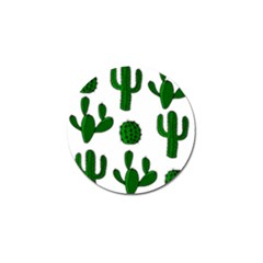 Cactuses Pattern Golf Ball Marker (4 Pack) by Valentinaart