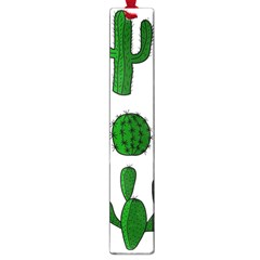 Cactuses Pattern Large Book Marks by Valentinaart