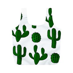 Cactuses Pattern Full Print Recycle Bags (m)