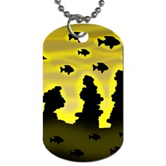 Khazar s Dream  Dog Tag (one Side) by Valentinaart