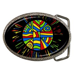 Colorful Bang Belt Buckles by Valentinaart