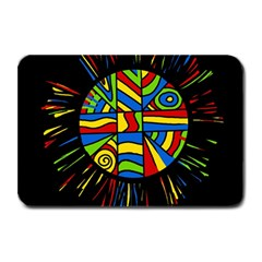 Colorful Bang Plate Mats by Valentinaart