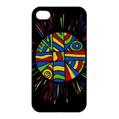 Colorful Bang Apple Iphone 4/4s Hardshell Case by Valentinaart