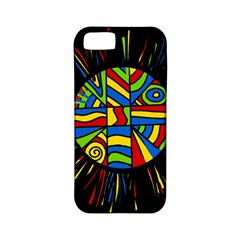 Colorful Bang Apple Iphone 5 Classic Hardshell Case (pc+silicone) by Valentinaart