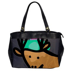 Deer Office Handbags by Valentinaart