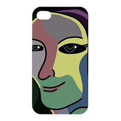 Lady Apple Iphone 4/4s Hardshell Case by Valentinaart
