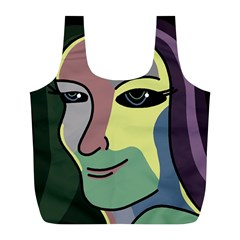 Lady Full Print Recycle Bags (l)  by Valentinaart