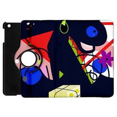 Gift Apple Ipad Mini Flip 360 Case by Valentinaart