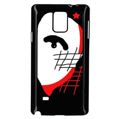 Revolution Samsung Galaxy Note 4 Case (black) by Valentinaart