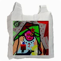 Quarreling Recycle Bag (one Side)