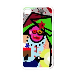 Quarreling Apple Iphone 4 Case (white) by Valentinaart