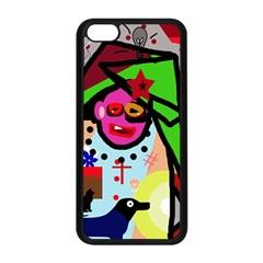 Quarreling Apple Iphone 5c Seamless Case (black) by Valentinaart
