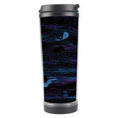 Blue Moonlight Travel Tumbler by Valentinaart